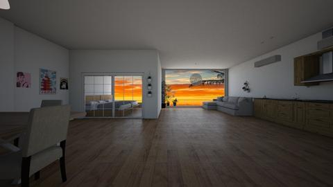 tropicalresort - Living room - by lemonyellowhouse
