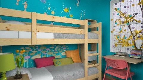 For fallen8242 - Eclectic - Bedroom - by Theadora