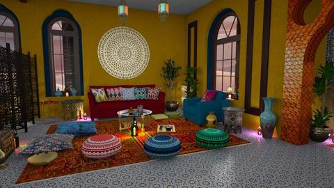 Arabian 1001 nights - Bedroom - by Moonpearl