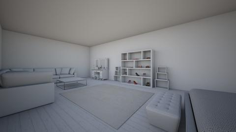 Bedroom angle 2 - Minimal - Bedroom - by Yokeyyok