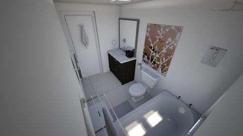 Bathroom in new apt - Bathroom - by diorrnicholson812