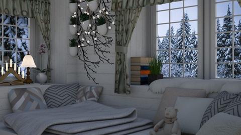 winter - Bedroom - by penelopy