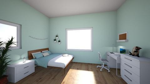 My Bedroom Lights - Minimal - Bedroom - by Ameera Peachy Mint