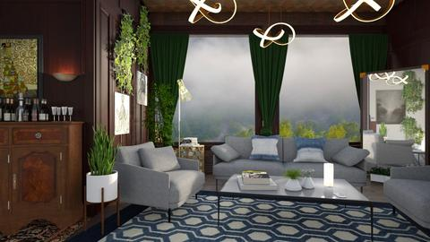 M_ Eclectic - Living room - by milyca8