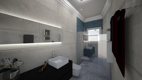 jardim - Bathroom - by teodora0701hh