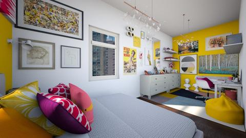 Tiny bedroom - Bedroom - by Ritix