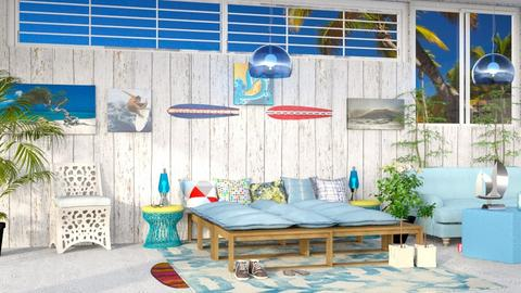 Surf bedroom - by Nari31