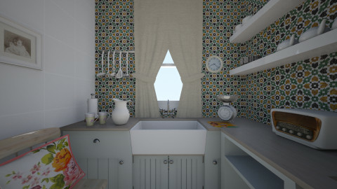 kitchen - Vintage - Kitchen - by kledisa hasa