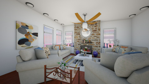 Fazenda 2nd view  - Living room - by honeylynAmbos