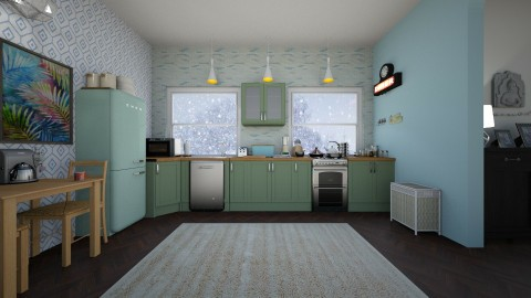 Cook - Feminine - Kitchen - by niranjanimanthees
