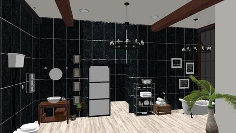 Citizen OAK - Bathroom - by rousseysmith
