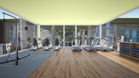 Fitness Center - by awsompaws