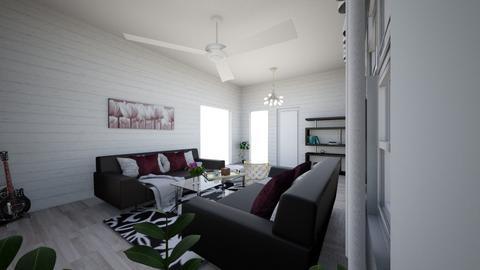 Wall treatments Room - Modern - Living room - by Savanah G