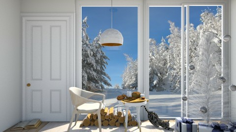 Small Christmas - Minimal - Dining room - by deleted_1524503933_Architectural