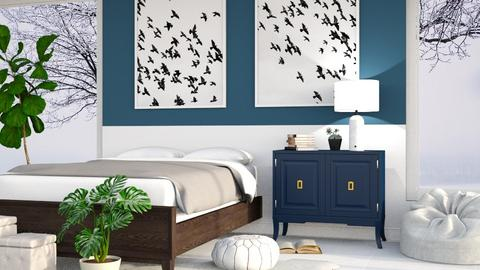 Navy - Bedroom - by millerfam