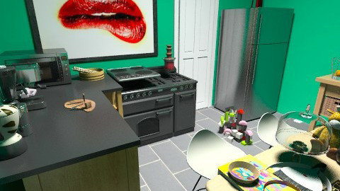 Amys messy kitchen - Modern - Kitchen - by LadyVienna