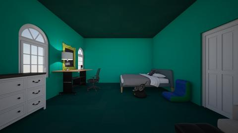 chambre de CHARLES - Bedroom - by CharlesT