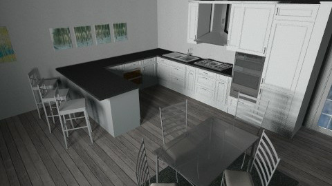 gray - Kitchen - by martina1999