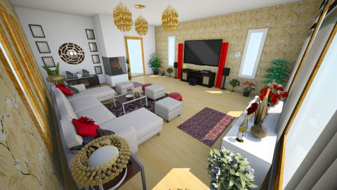 mom - Living room - by _one_only_