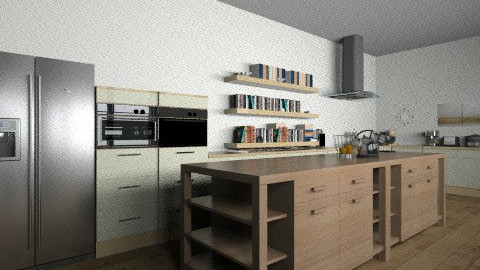 Modern country kitchen - Modern - Kitchen - by TheDesignQueen