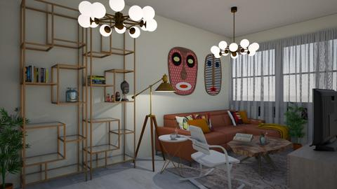 first desing - Eclectic - Living room - by Nitzan Rotshild