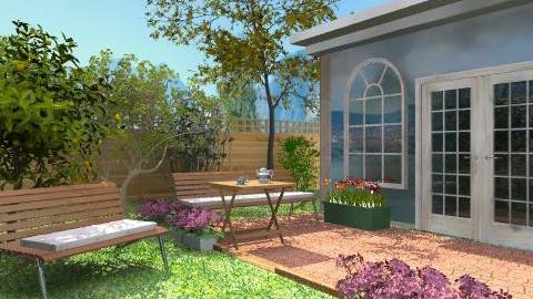 Flower garden - Classic - Garden - by milyca8