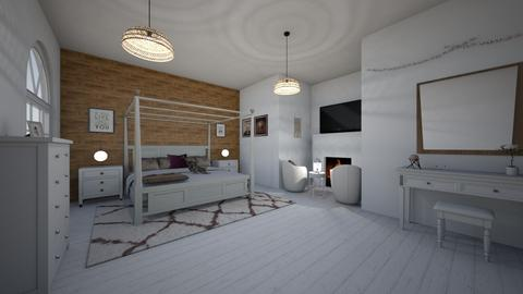 wood accent - Bedroom - by sk0998