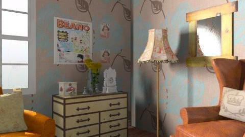 Vintage - Vintage - Living room - by laruue