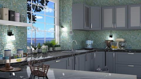Mosaic Kitchen - by ZuzanaDesign