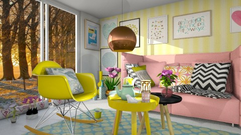spring is coming - Minimal - Living room - by margesimpson2000