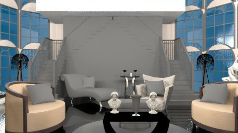 heffs joint - Glamour - Living room - by trees designs