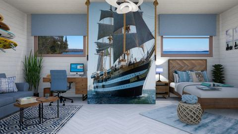 nautical - Bedroom - by zayneb_17