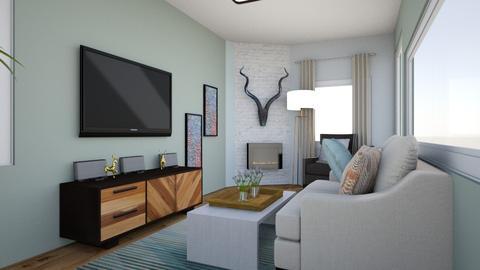 kims family room - Living room - by Theartofpreparation