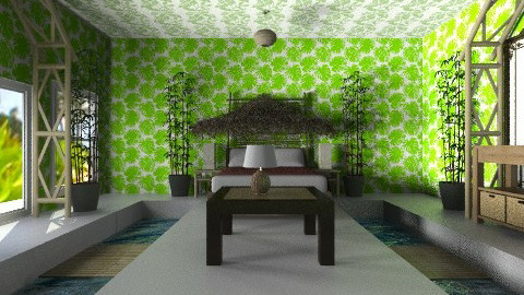 Bamboo Cottage - Country - Bedroom - by thekidd