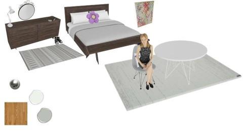 Fun Mature Bedroom - by alderk26