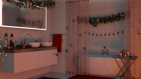 RedBath - Bathroom - by Ebru Tekneci