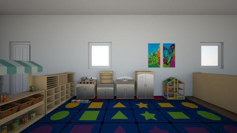 My Classroom layout - by Rina Horsford