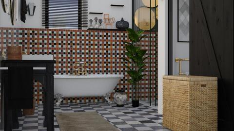 eclectic bathroom_1 - Bathroom - by elyssaumber