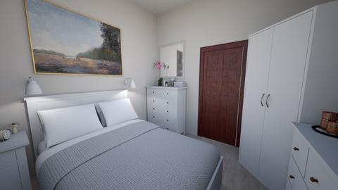 Sypialnia cioci Basi 04 - Bedroom - by Anna_Be