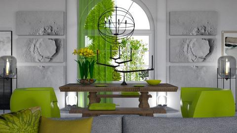 Green Dining - by ritsa