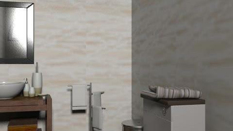 22 - Rustic - Bathroom - by JCjulia