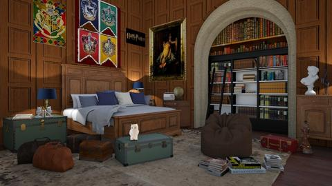 Harry Potter Bedroom - Bedroom - by JarkaK