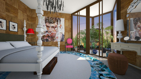 Eclectic Glam Bedroom - Glamour - Bedroom - by 3rdfloor