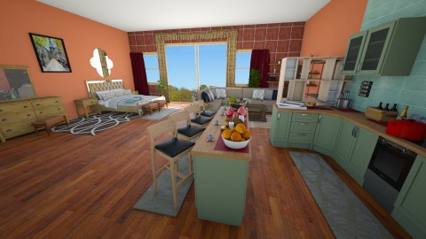 open plan appartment 2 - by Suzanne Hoskins