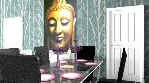 Drummond Kitchen/Living - Modern - Dining room - by missjojo
