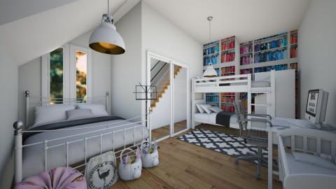 4 Kids Bedroom - Bedroom - by Sunny Bunny