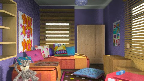 Daniel's & Serah's Bedroom - Country - Bedroom - by chania