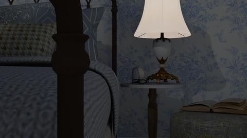 Sleepy - Vintage - Bedroom - by HenkRetro1960