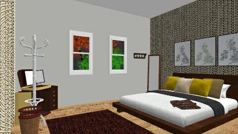 retro1 - Retro - Bedroom - by nico3