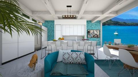 Malibu California - Modern - Kitchen - by bgref